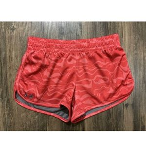Under Armour Athletic Shorts Gym Small Semi Fitted